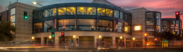 Walnut Creek, CA - A nice blend of open space and civilization. The Lesher Center, shown above, is celebrating 25 years as a regional art destination.